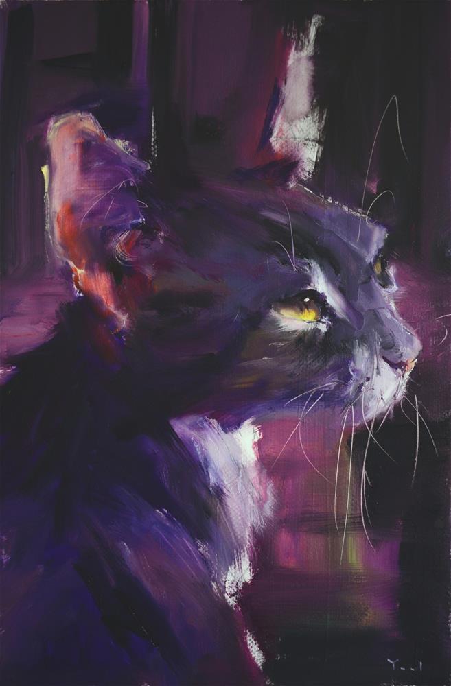 """Lucid Daydreaming "" original fine art by Yael Maimon"