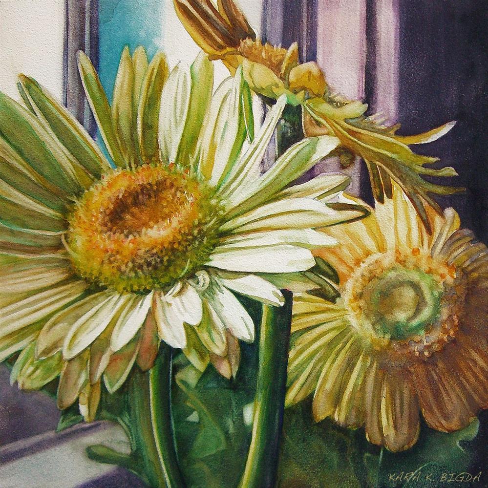 """Springtime"" original fine art by Kara K. Bigda"