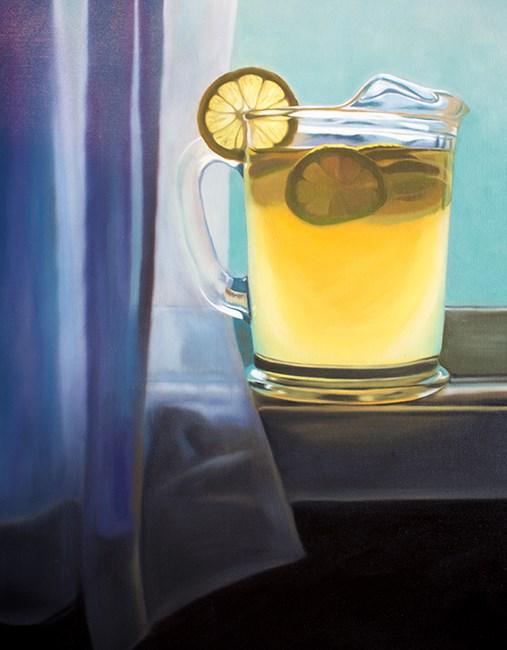 """""""Pitcher of Lemonade"""" original fine art by Lauren Pretorius"""