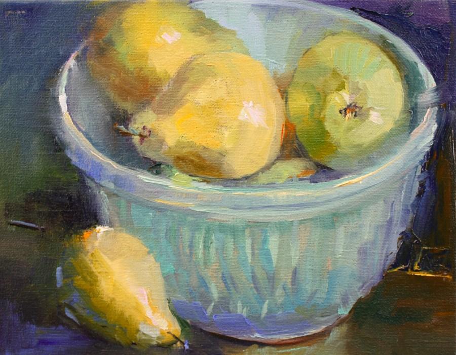 """""""Dessert"""" original fine art by Pamela Sweet"""