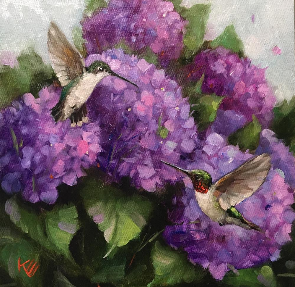 """""""Come Fly with Me"""" original fine art by Krista Eaton"""