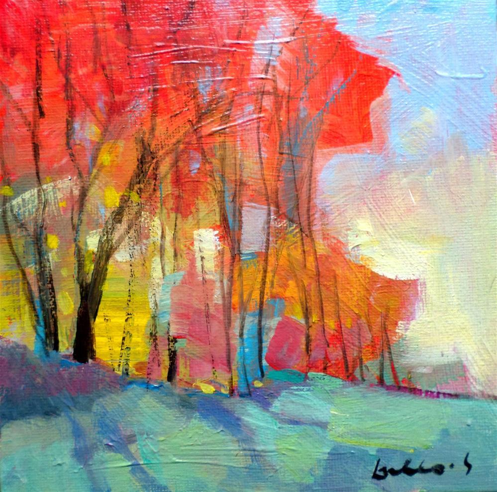 """""""The grand trees"""" original fine art by salvatore greco"""