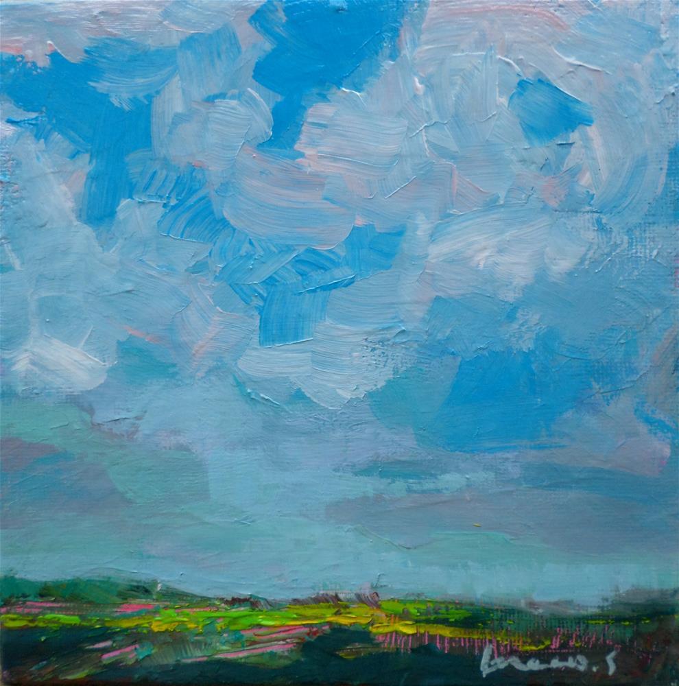 """Big sky"" original fine art by salvatore greco"