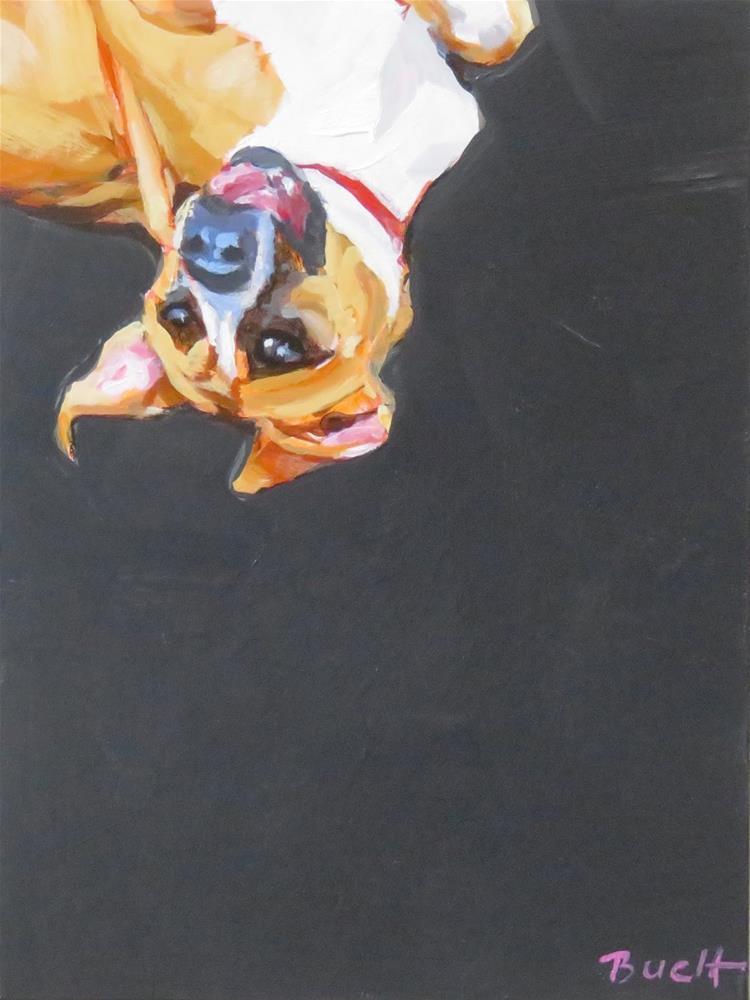 """""""Class Clown"""" original fine art by Shari Buelt"""