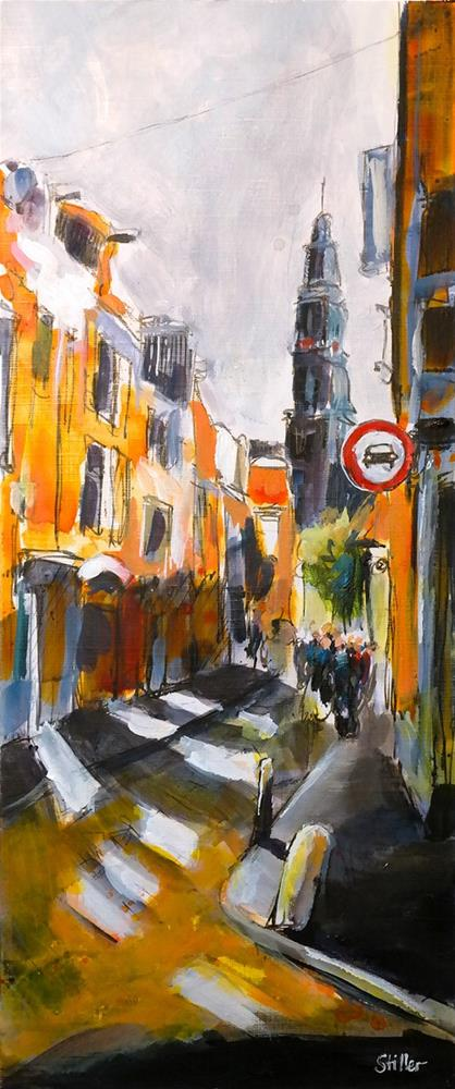 """2913 Amsterdam Memories 01"" original fine art by Dietmar Stiller"