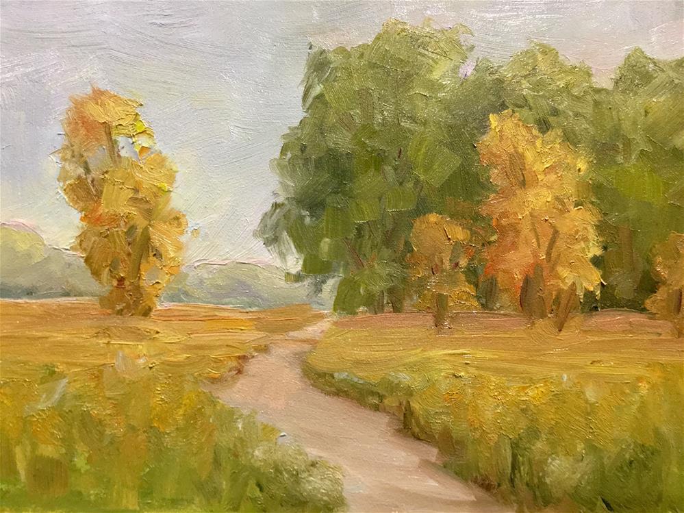 """Autumn"" original fine art by Judith Anderson"
