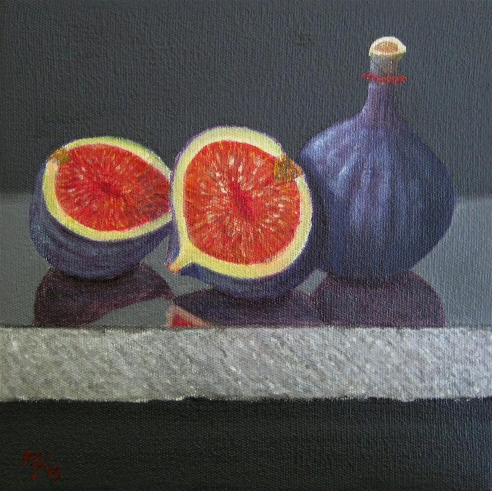 """Figs"" original fine art by Pera Schillings"