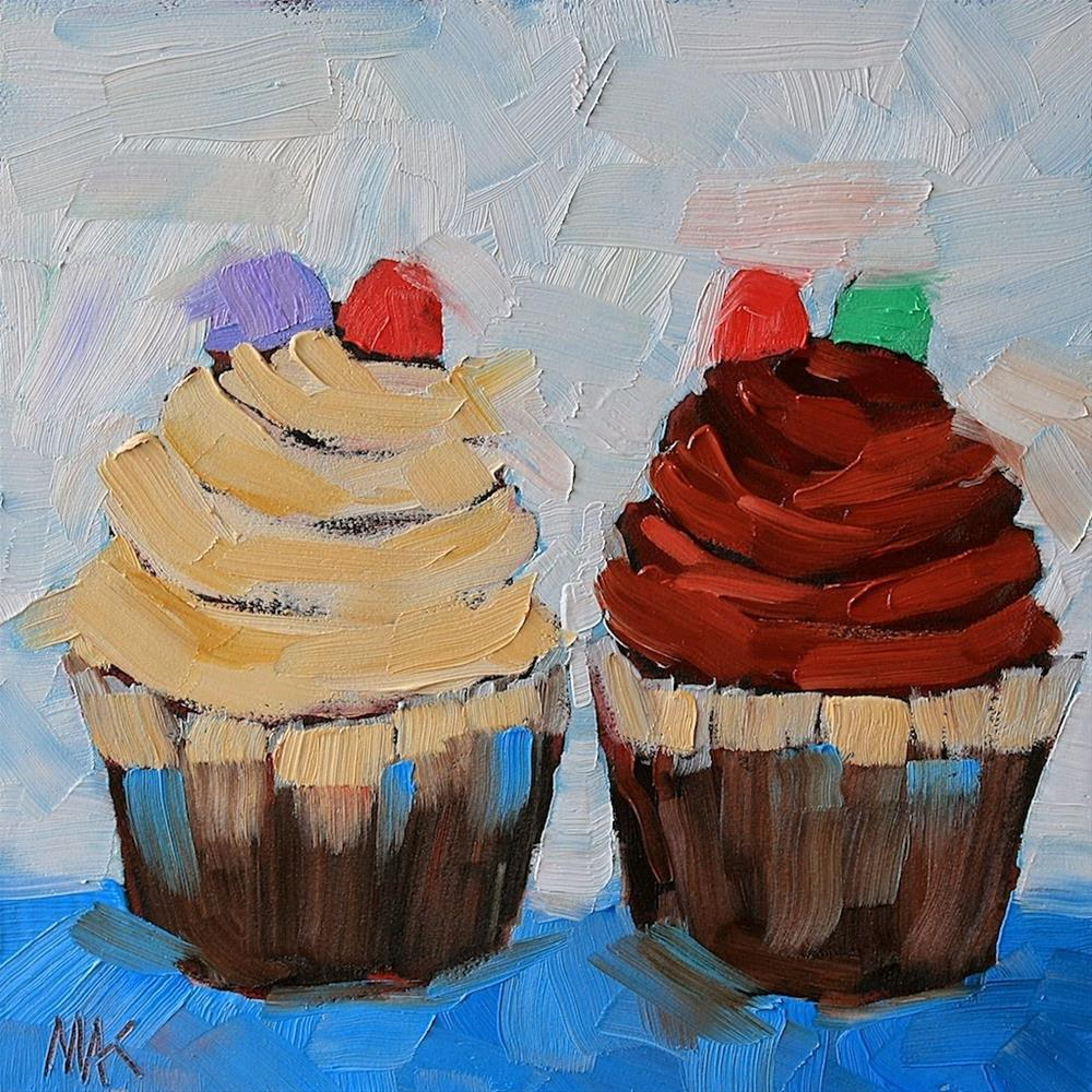"""Two of a Kind"" original fine art by Mary Anne Cary"