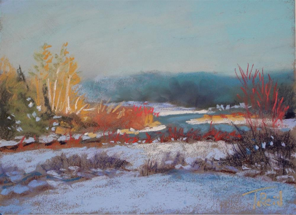 """Yellow River"" original fine art by Toby Reid"