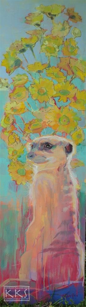 """Sonny"" original fine art by Kimberly Santini"