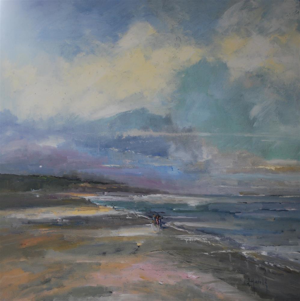 """""""Partial Clearing"""" original fine art by Deborah Harold"""