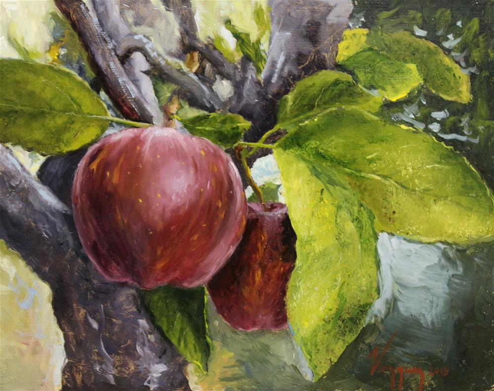 """Red delicious"" original fine art by Marco Vazquez"