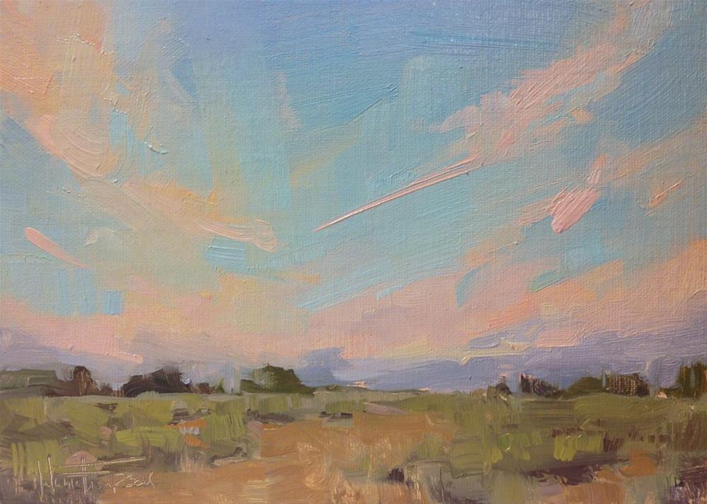 """Almost Sunrise"" original fine art by Melanie Thompson"