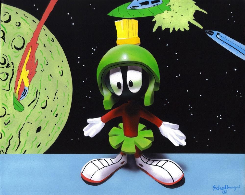 """Beam Me Up"" original fine art by Fred Schollmeyer"