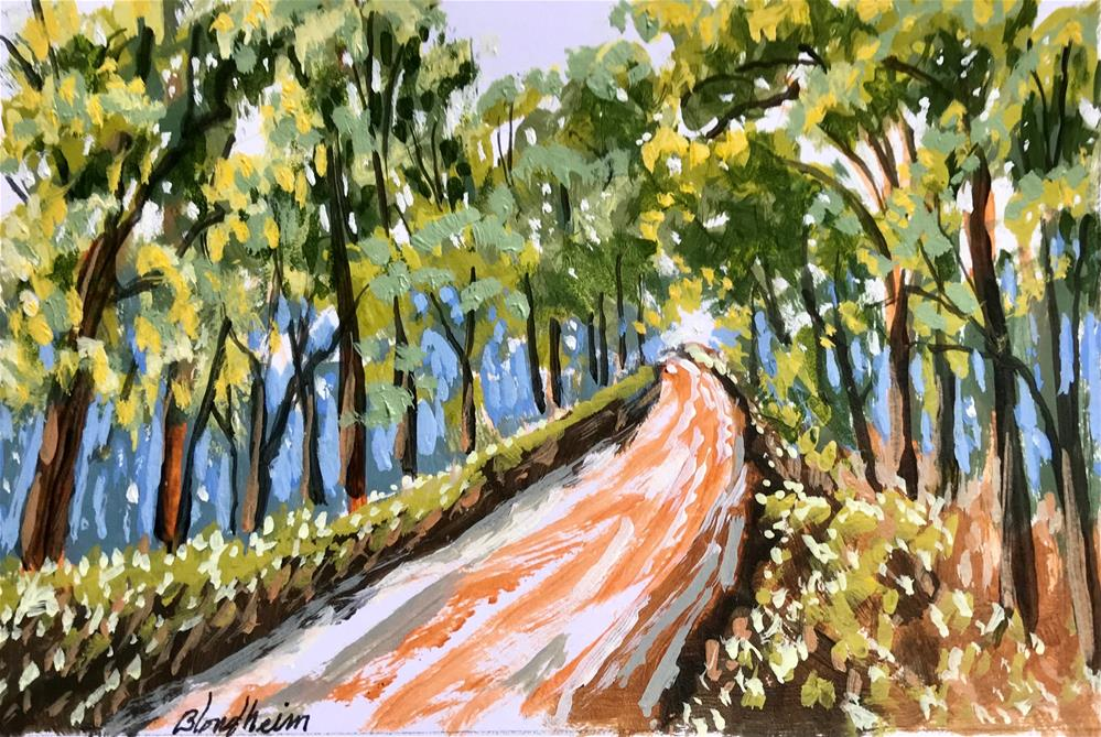 """Dirt Road"" original fine art by Linda Blondheim"