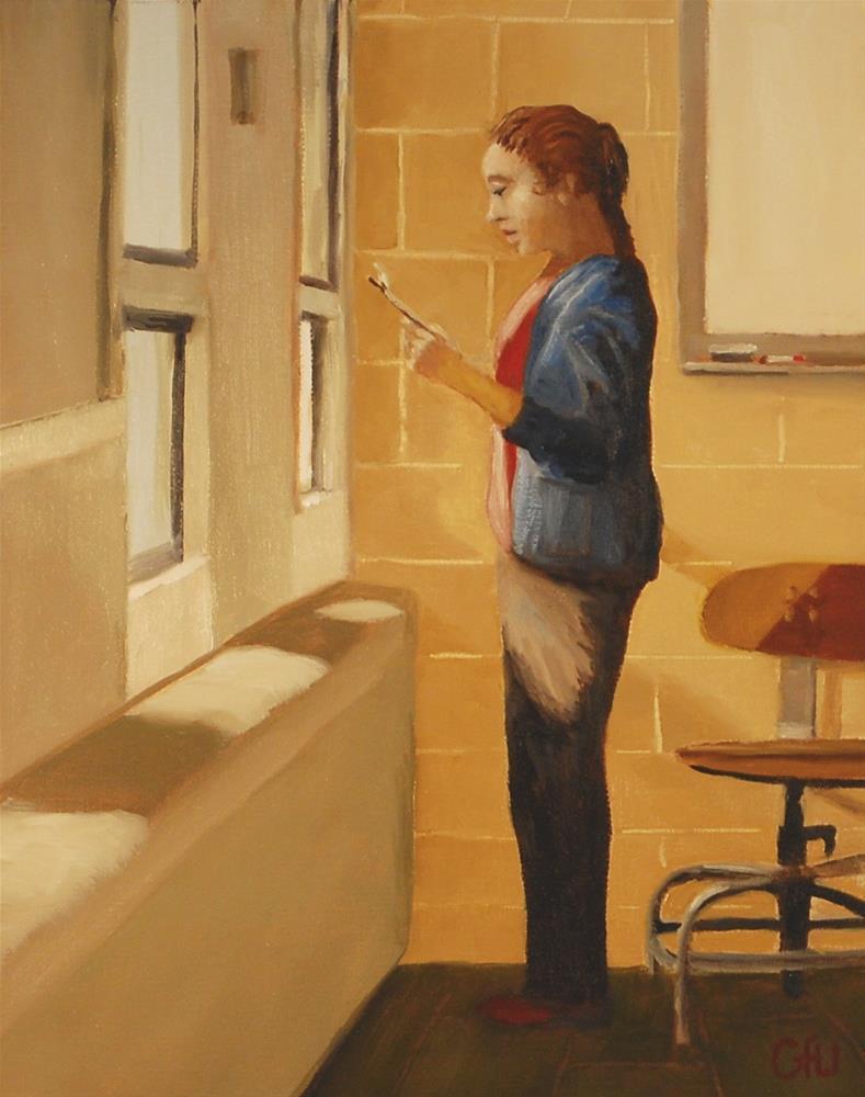 """The Teacher"" original fine art by Gary Westlake"