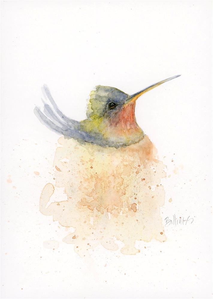 """""""Nest Study III"""" original fine art by Susanne Billings"""