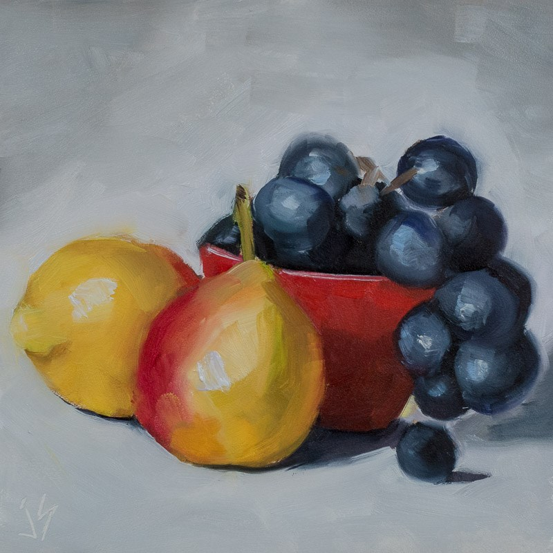 """""""Cuatro"""" original fine art by Johnna Schelling"""