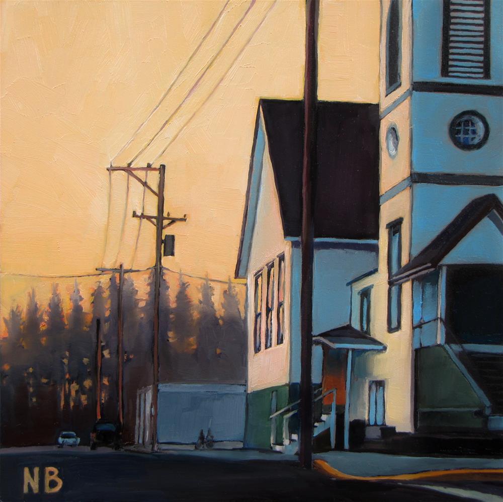 """Mine is the Morning"" original fine art by Nora Bergman"