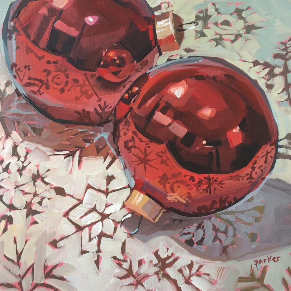 """Don't Flake On Me"" original fine art by Teddi Parker"