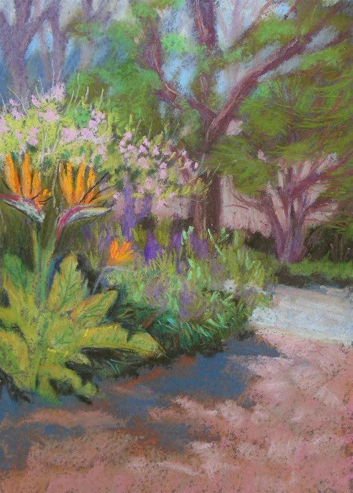 """Tamara's Driveway"" original fine art by Rhett Regina Owings"