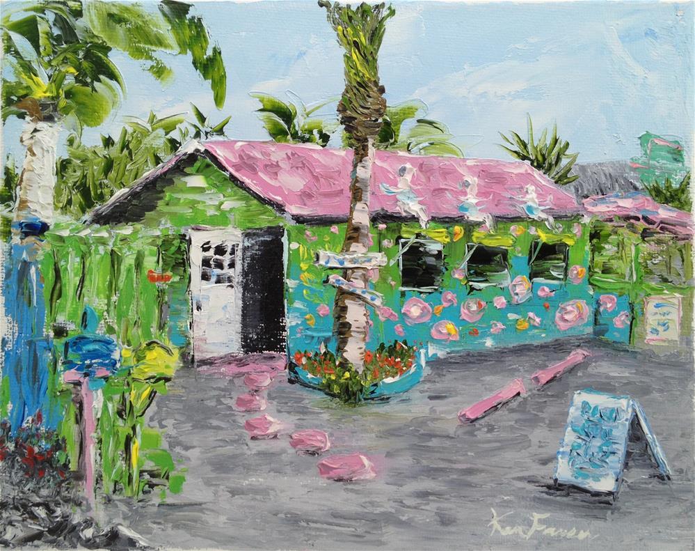 """""""Matlacha Art Gallery"""" original fine art by Ken Fraser"""