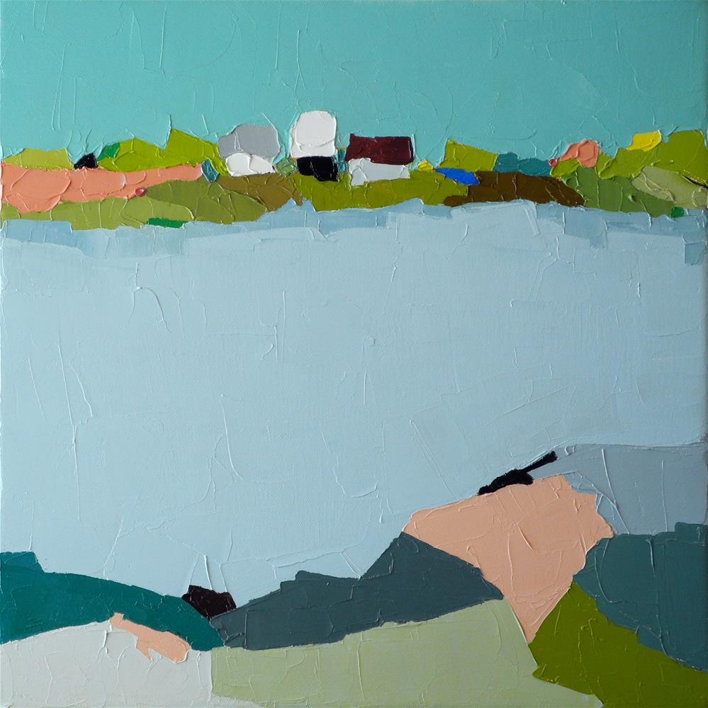 """Across the Way"" original fine art by Donna Walker"