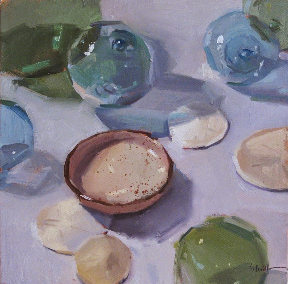 """The Speckled Dish"" original fine art by Sarah Sedwick"
