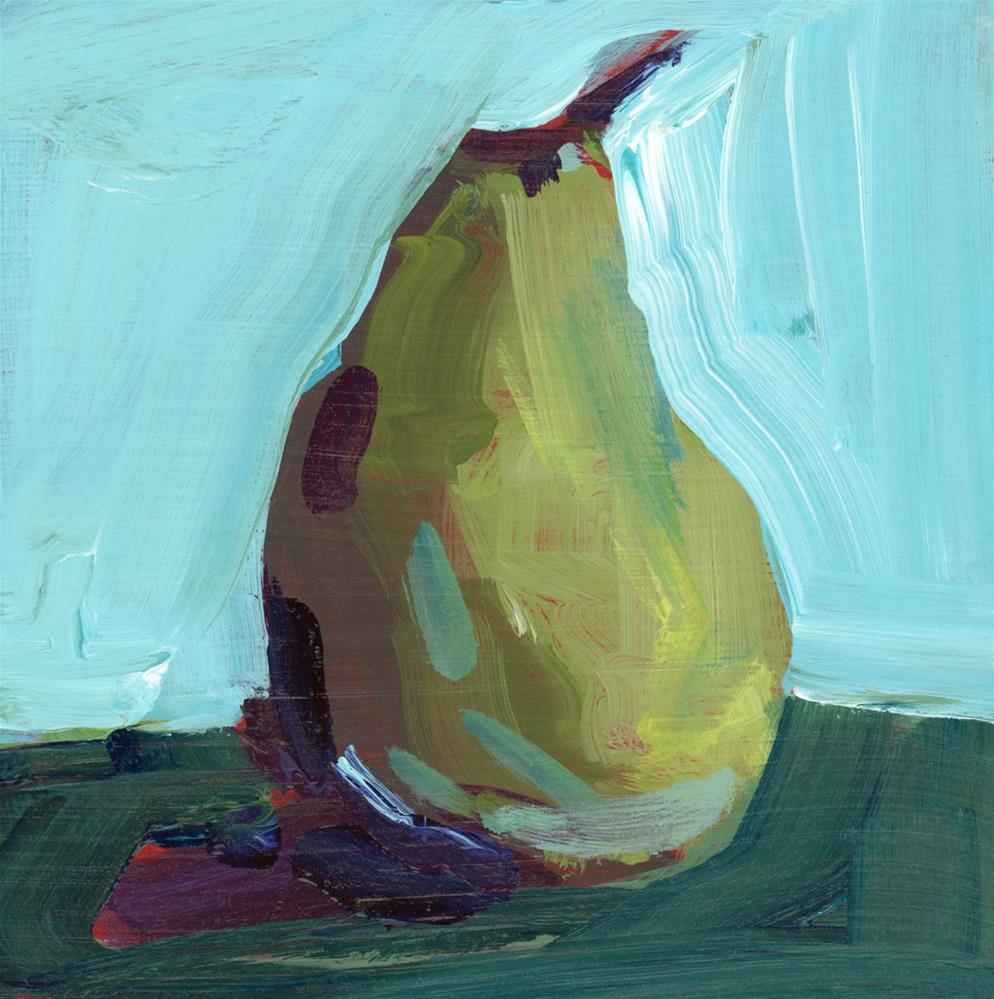"""1203: Pear Value Demo"" original fine art by Brian Miller"