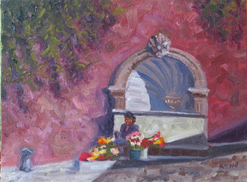 """""""Flores de Calle"""" original fine art by Richard Kiehn"""