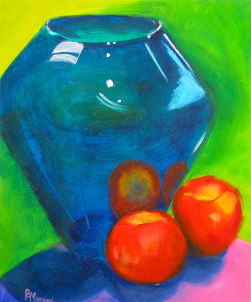 """""""Reflected Fruit"""" original fine art by Patricia Murray"""