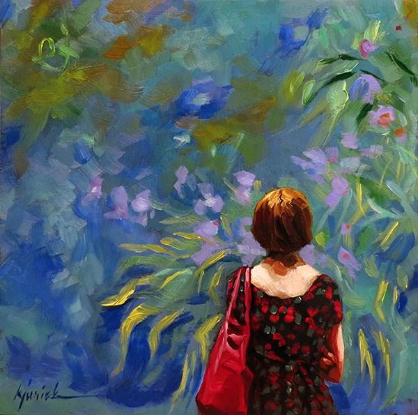 """Garden Variety"" original fine art by Karin Jurick"