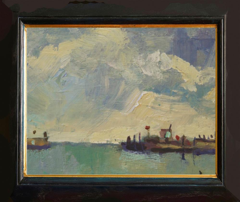 """Shoreham Harbour"" original fine art by Andre Pallat"