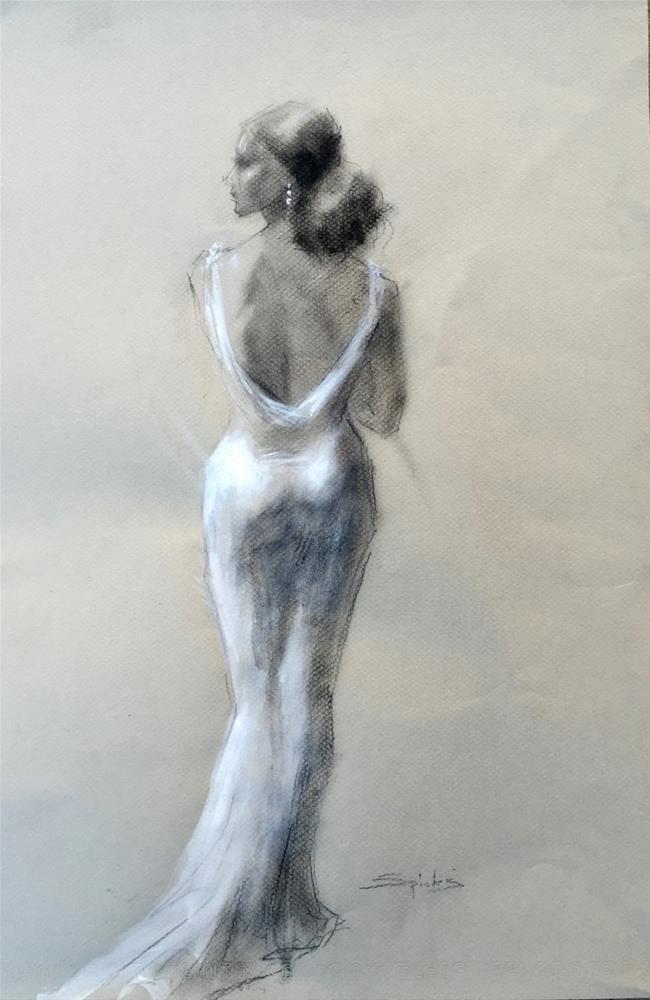"""Martini"" original fine art by Johanna Spinks"