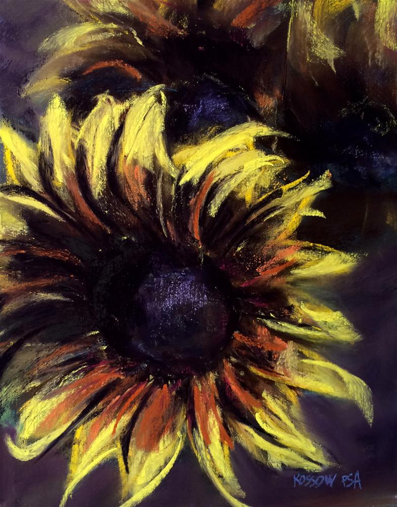 """Fun With Sunflowers"" original fine art by Cristine Kossow"