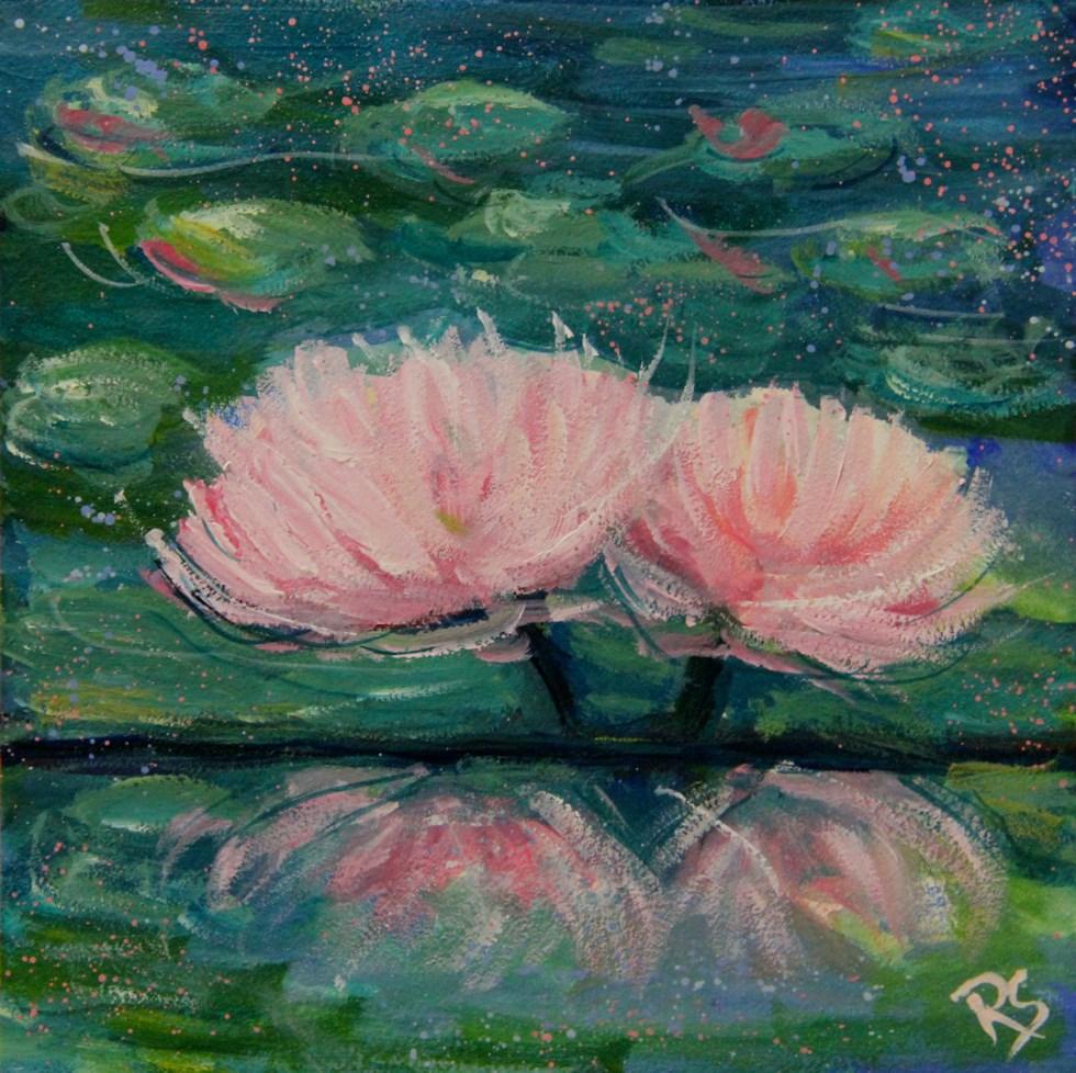 """""""Unity"""" original fine art by Roberta Schmidt ArtcyLucy"""