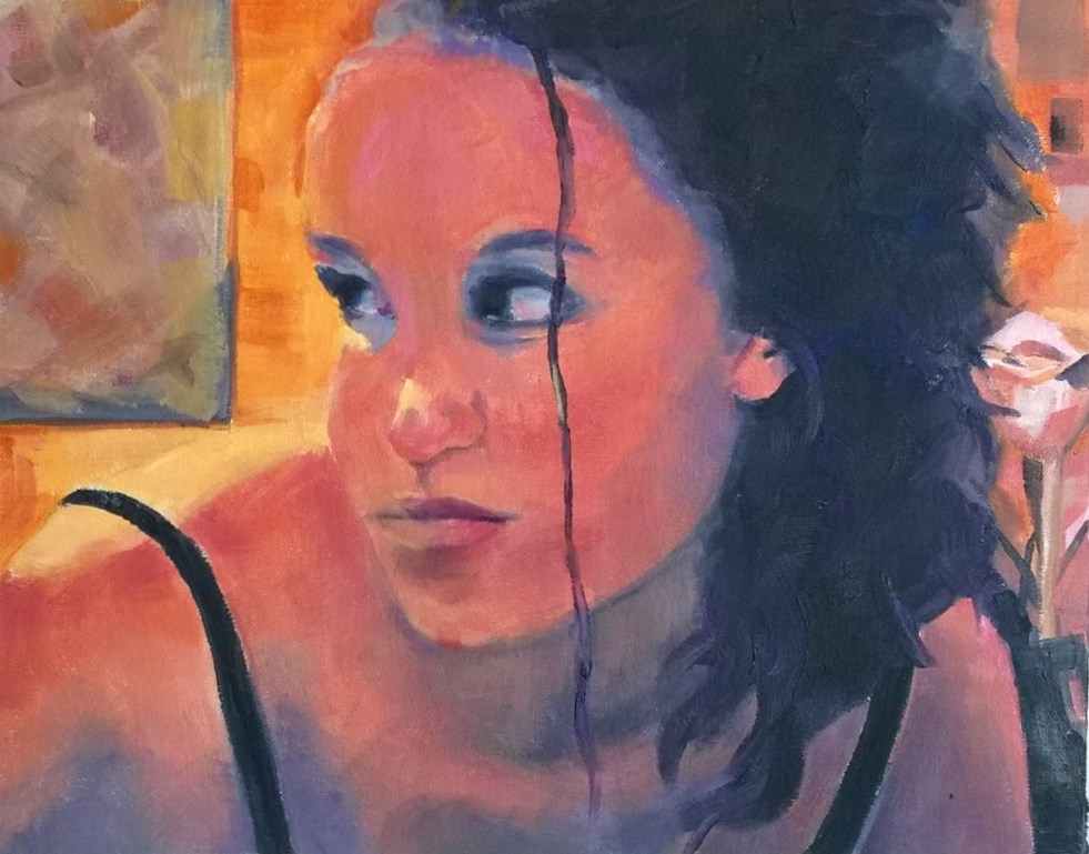 """""""Moody"""" original fine art by Crisynda Buss"""
