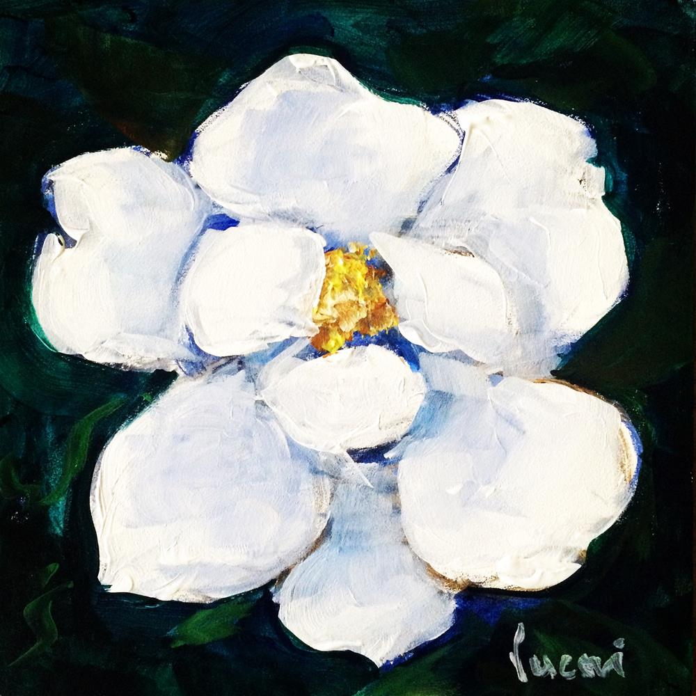 """Magnolia"" original fine art by Valerie Vescovi"