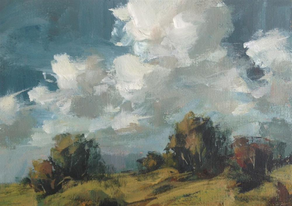 """""""Dark and Rainy"""" original fine art by Shannon Bauer"""