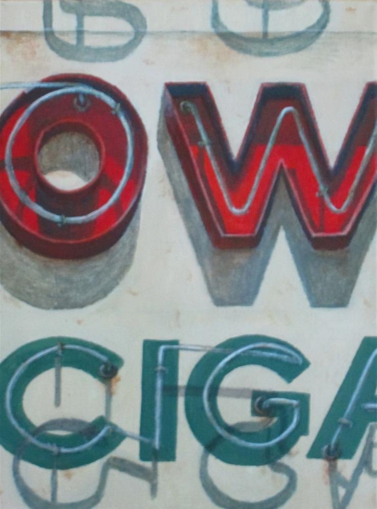 """""""OW"""" original fine art by Debbie Shirley"""