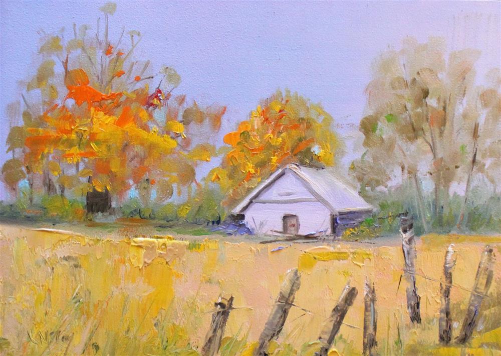 """""""Tucked In"""" original fine art by Linda McCoy"""