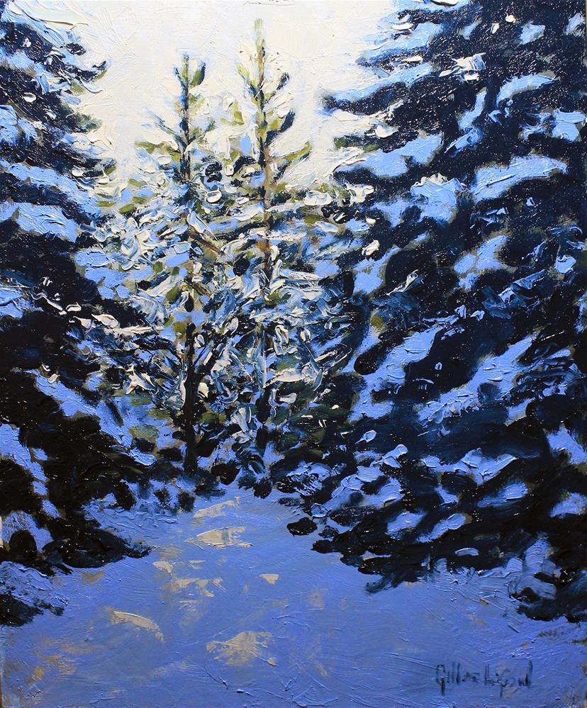 """""""First light"""" original fine art by Gilles Lafond"""