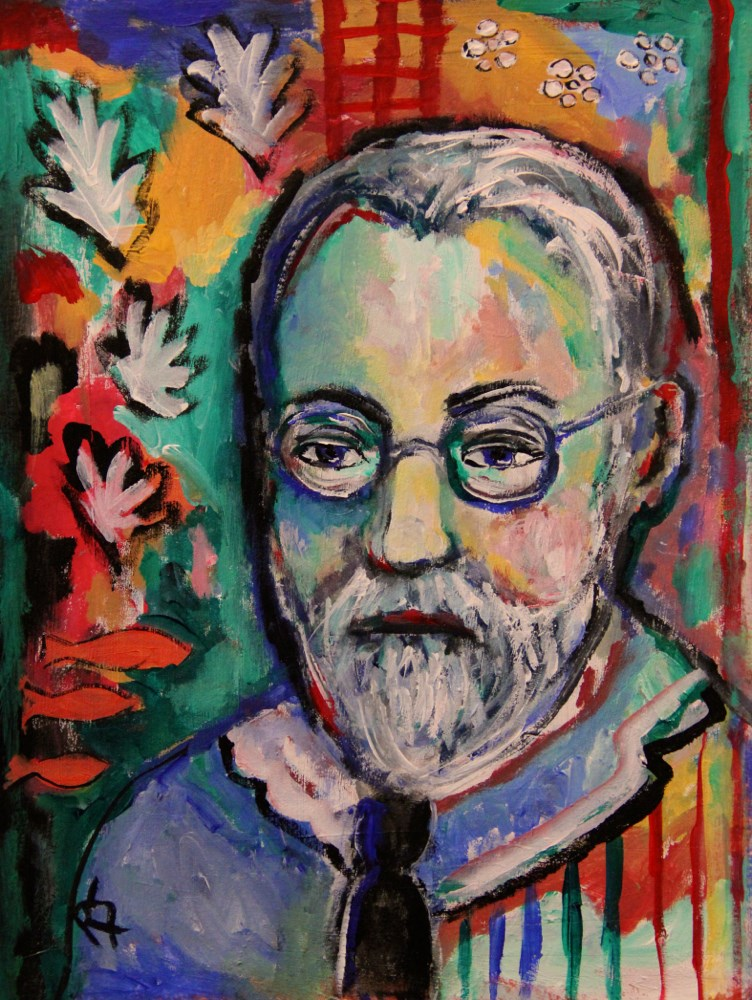 """Matisse and his Motifs"" original fine art by Roberta Schmidt ArtcyLucy"