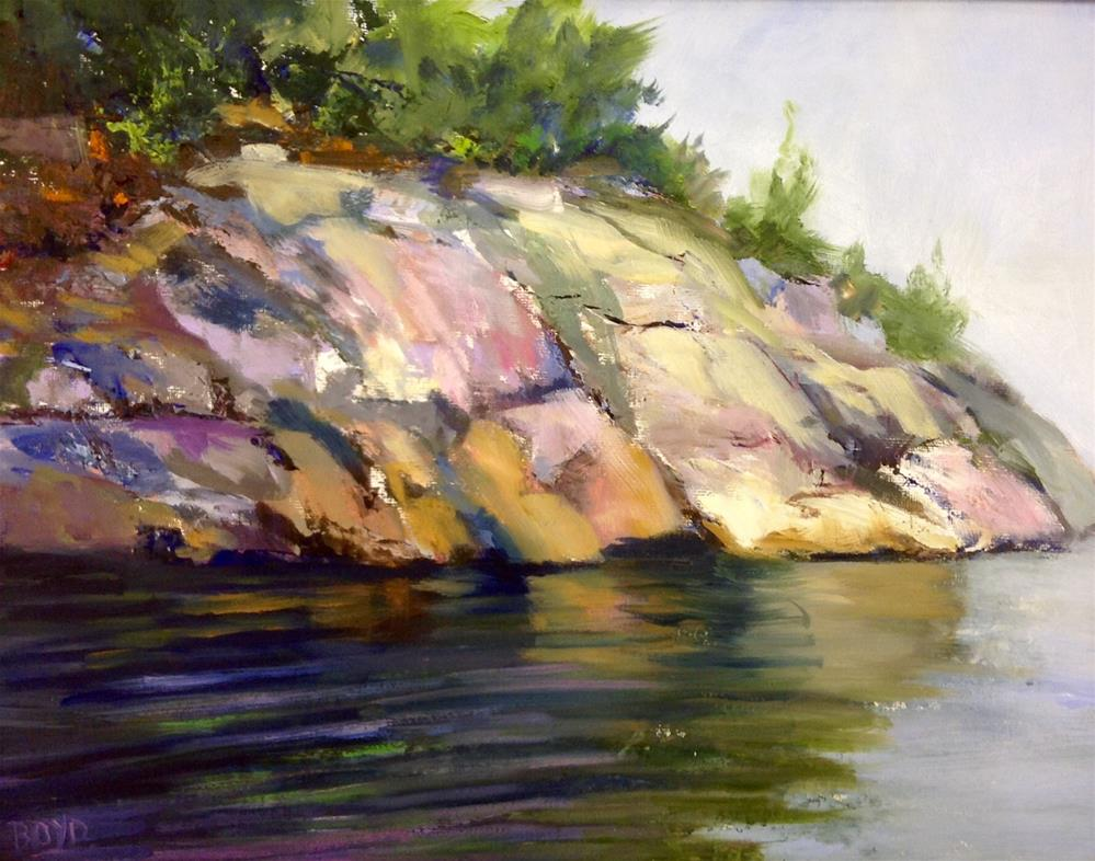 """On The Shore"" original fine art by Cathy Boyd"