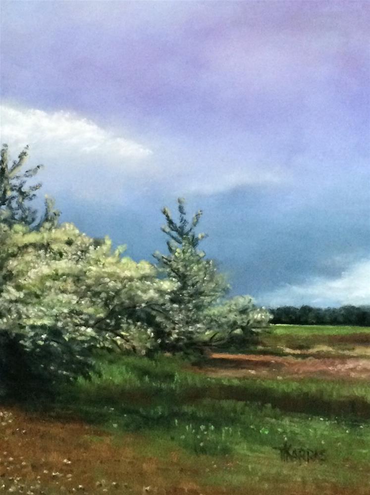 """""""Before the Storm"""" original fine art by Christina Karras"""
