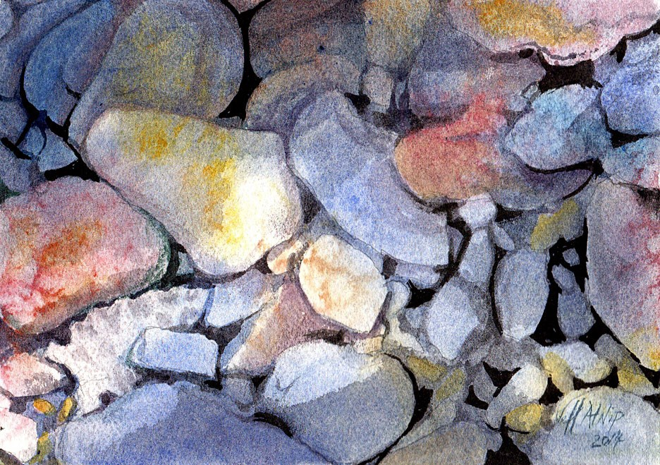 """Hidden Treasure"" original fine art by Jeff Atnip"