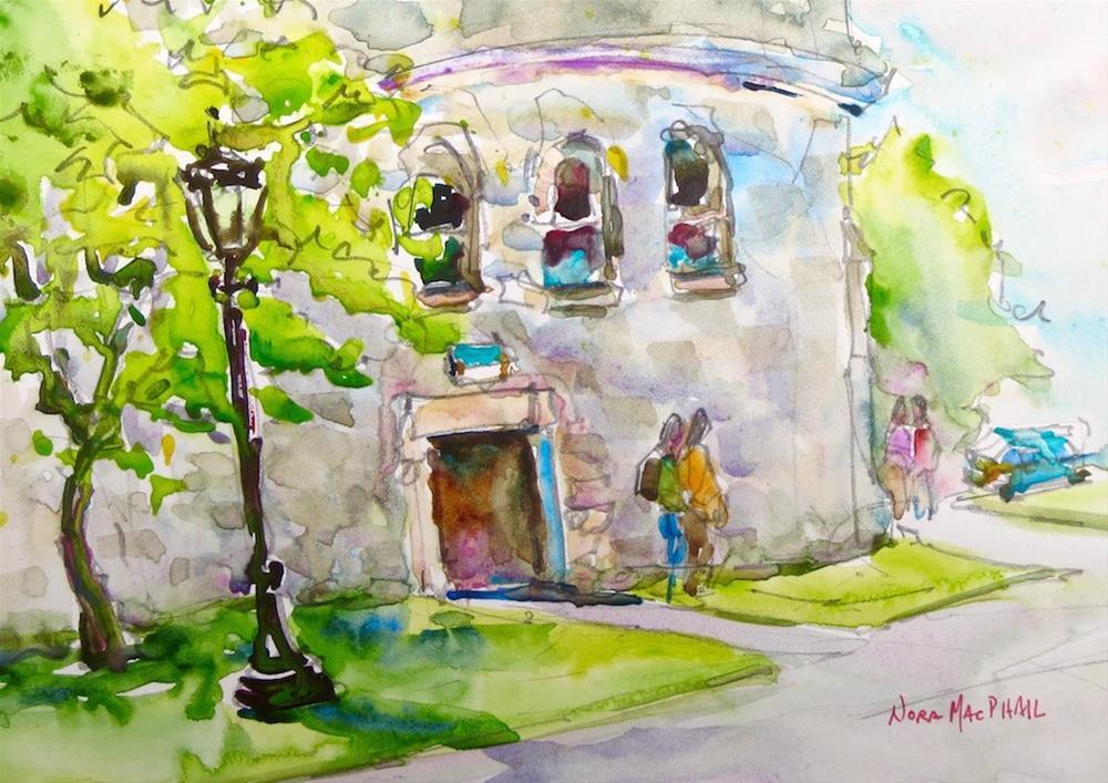 """school's out"" original fine art by Nora MacPhail"