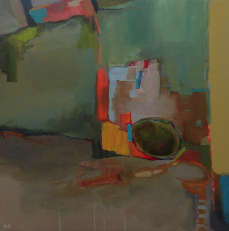 """""""Nest Egg"""" original fine art by ~ces~ Christine E. S. Code"""
