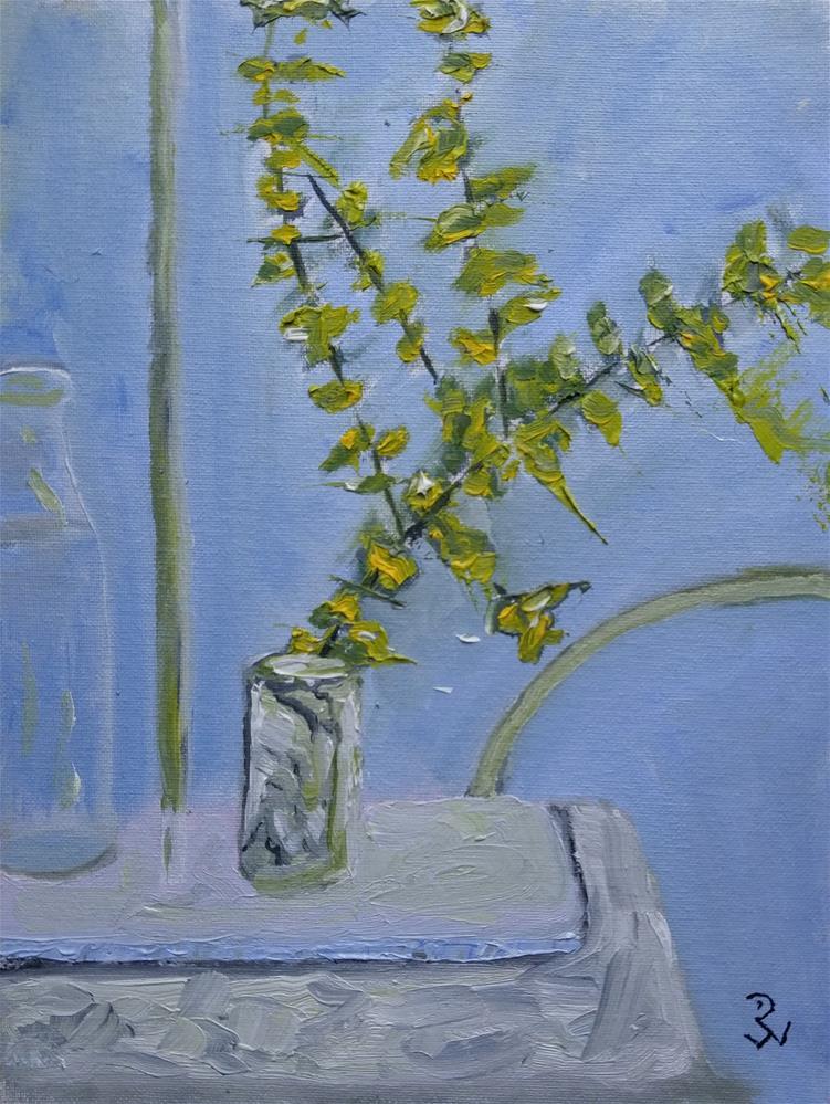 """Five Branches"" original fine art by Jodi Workman"