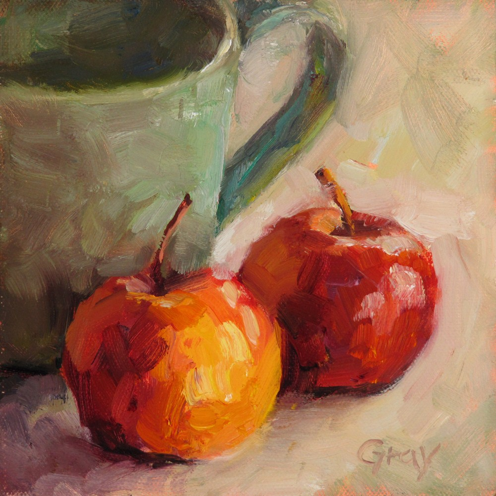 """Artist's Table No.3"" original fine art by Naomi Gray"